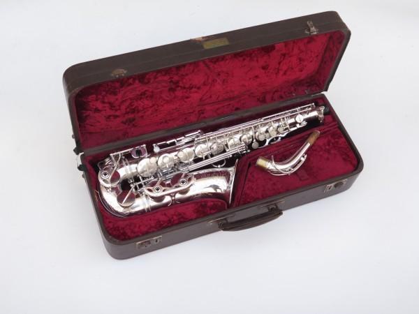 Saxophone alto Selmer Super Balanced Action argenté gravé (14)
