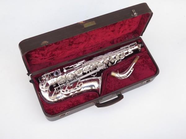 Saxophone alto Selmer Super Balanced Action argenté gravé (15)