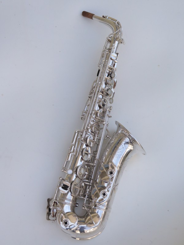Saxophone alto Selmer Super Balanced Action argenté gravé (16)