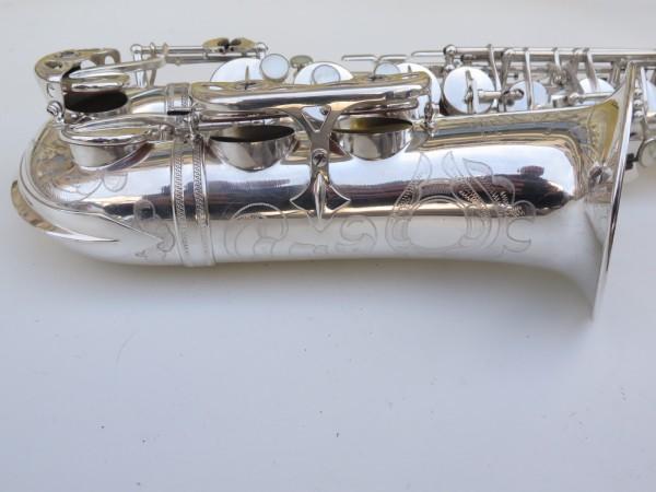 Saxophone alto Selmer Super Balanced Action argenté gravé (19)