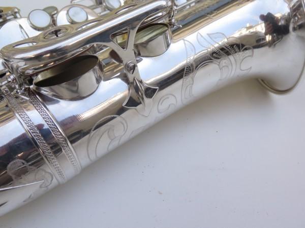 Saxophone alto Selmer Super Balanced Action argenté gravé (2)