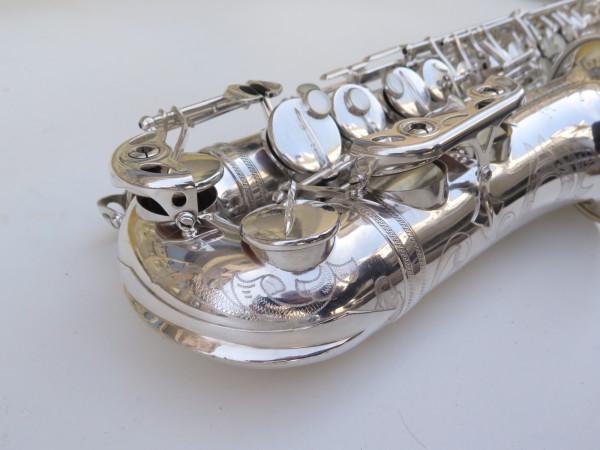Saxophone alto Selmer Super Balanced Action argenté gravé (20)