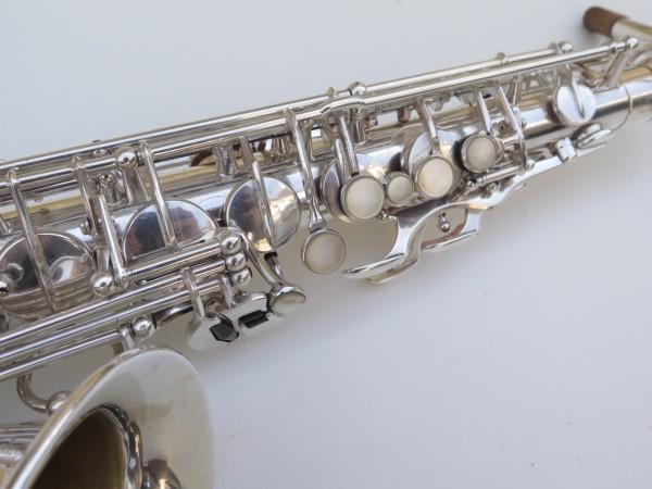Saxophone alto Selmer Super Balanced Action argenté gravé (22)