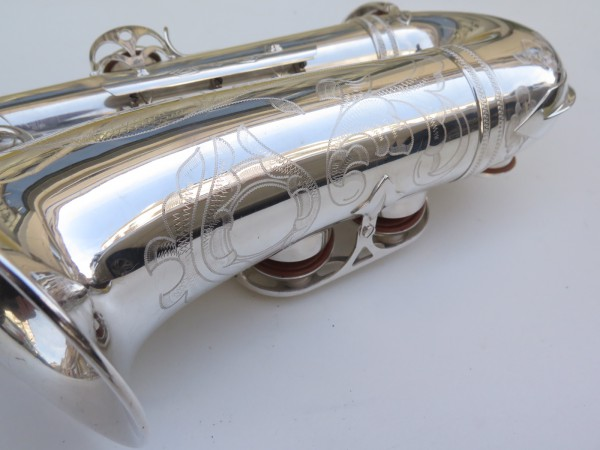 Saxophone alto Selmer Super Balanced Action argenté gravé (3)