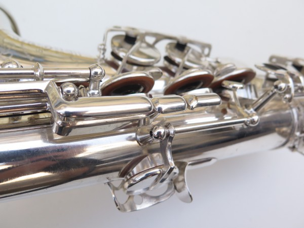 Saxophone alto Selmer Super Balanced Action argenté gravé (4)