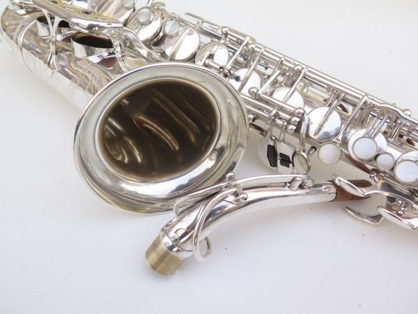 Saxophone alto Selmer Super Balanced Action argenté gravé (5)