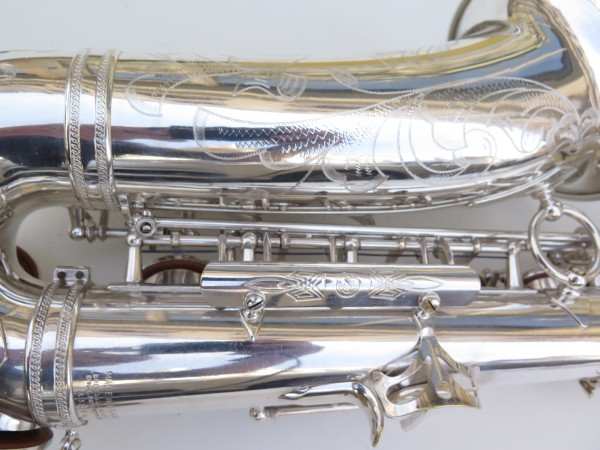 Saxophone alto Selmer Super Balanced Action argenté gravé (9)