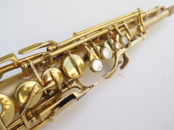 Saxophone soprano Conn plaqué or sablé (10)