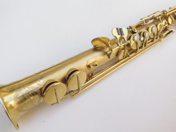 Saxophone soprano Conn plaqué or sablé (11)