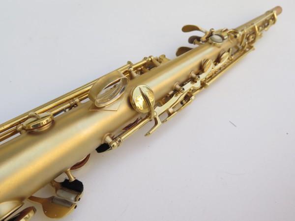 Saxophone soprano Conn plaqué or sablé (12)