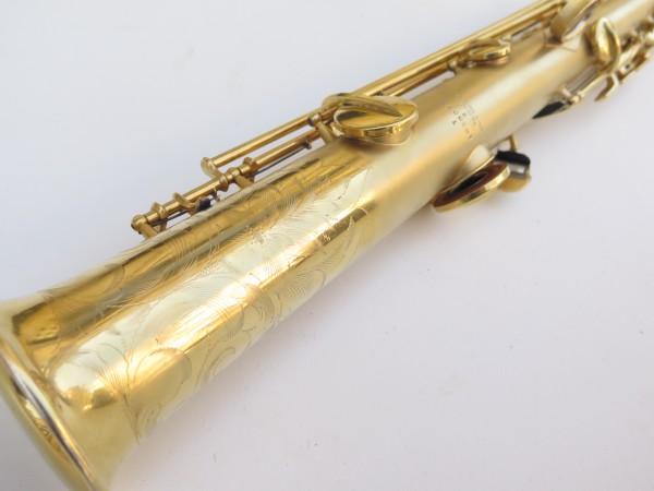 Saxophone soprano Conn plaqué or sablé (13)
