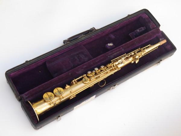 Saxophone soprano Conn plaqué or sablé (14)