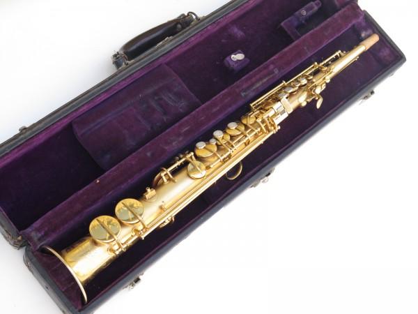Saxophone soprano Conn plaqué or sablé (17)