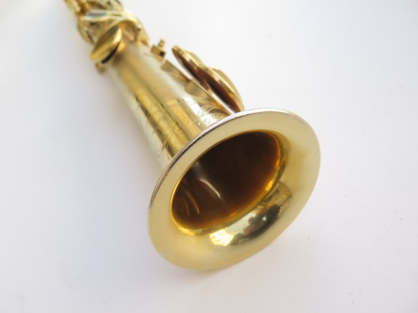 Saxophone soprano Conn plaqué or sablé (18)