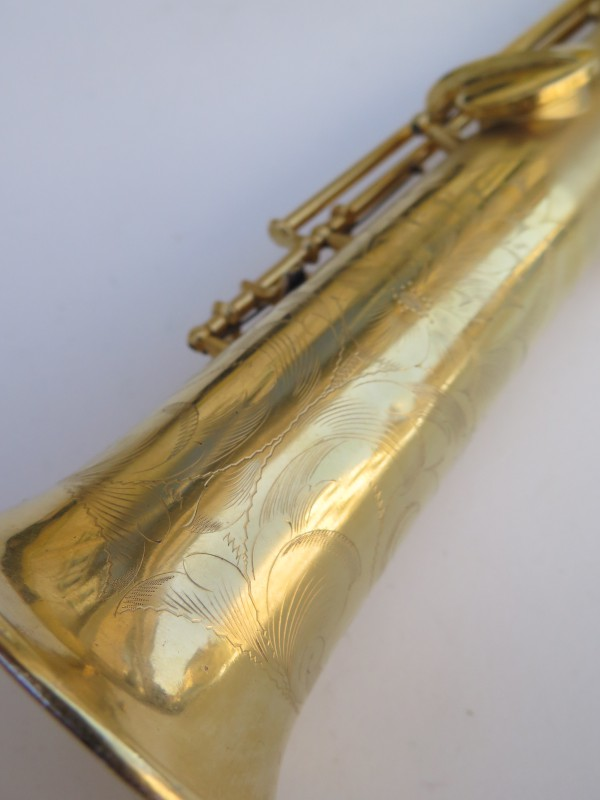 Saxophone soprano Conn plaqué or sablé (2)