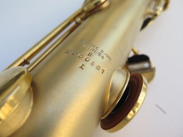 Saxophone soprano Conn plaqué or sablé (3)