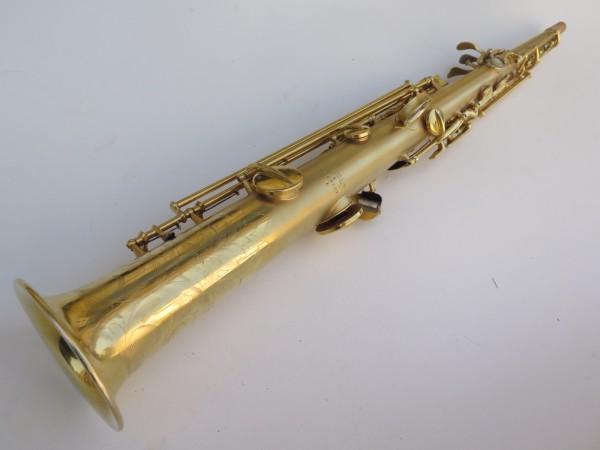 Saxophone soprano Conn plaqué or sablé (5)