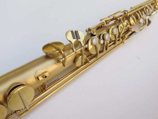 Saxophone soprano Conn plaqué or sablé (6)