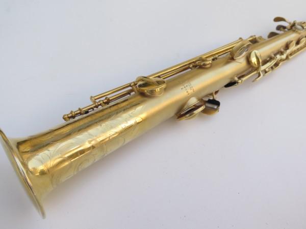 Saxophone soprano Conn plaqué or sablé (9)