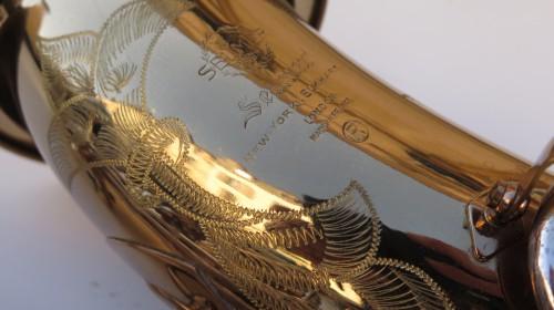 Saxophone ténor Selmer Mark 6 verni gravé argenté (1)