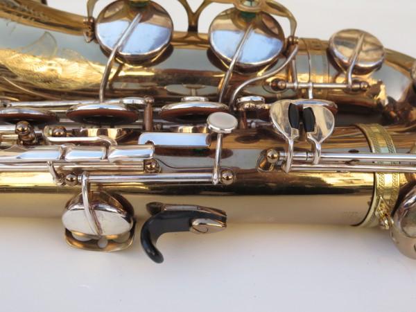 Saxophone ténor Selmer Mark 6 verni gravé argenté (12)