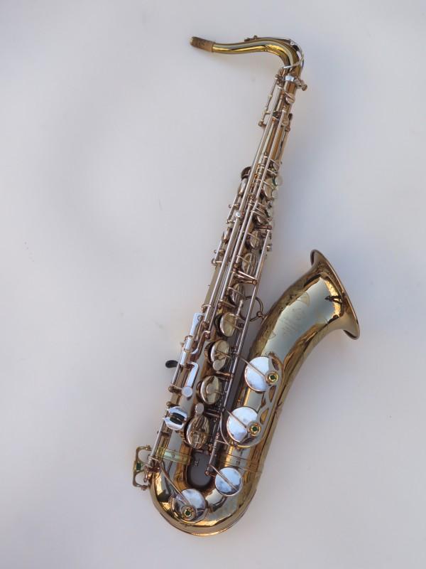 Saxophone ténor Selmer Mark 6 verni gravé argenté (3)