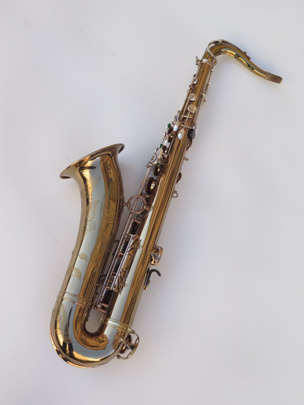 Saxophone ténor Selmer Mark 6 verni gravé argenté (4)