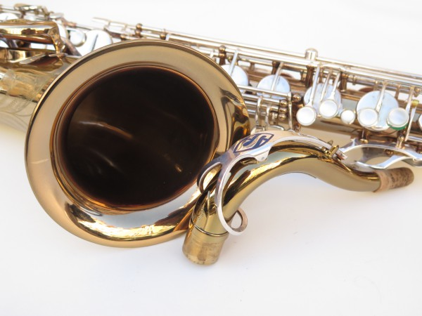 Saxophone ténor Selmer Mark 6 verni gravé argenté (7)