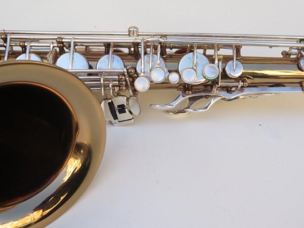 Saxophone ténor Selmer Mark 6 verni gravé argenté (8)