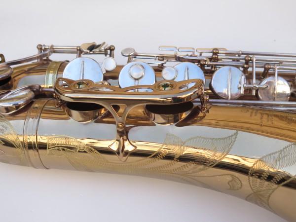 Saxophone ténor Selmer Mark 6 verni gravé argenté (9)