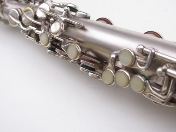 Saxophone alto Martin Master Typewriter argenté sablé (1)