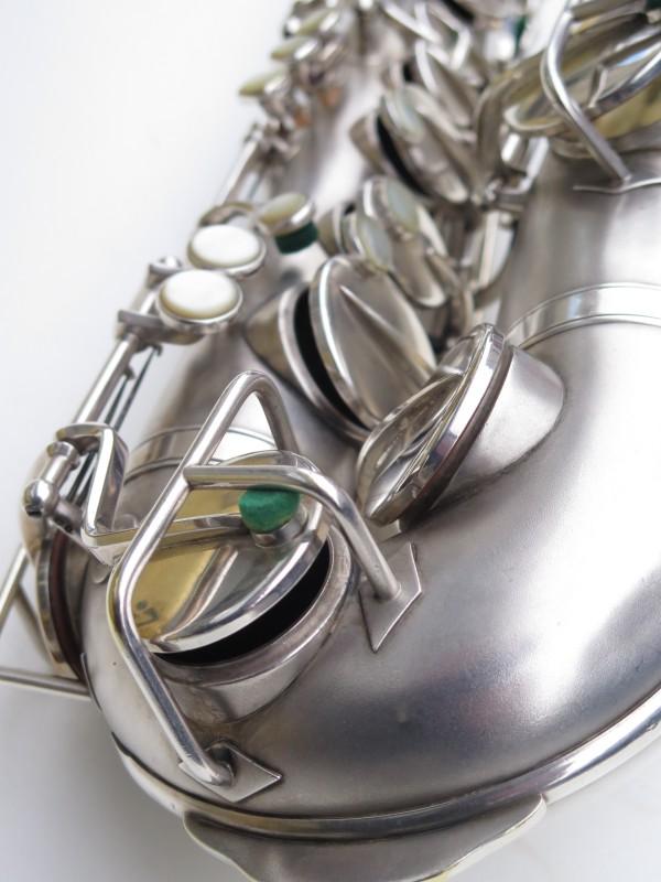 Saxophone alto Martin Master Typewriter argenté sablé (10)