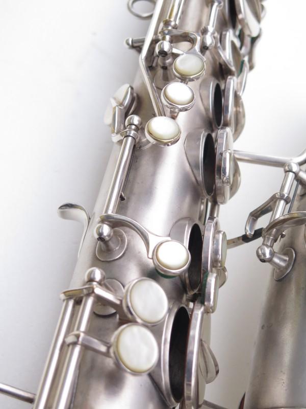 Saxophone alto Martin Master Typewriter argenté sablé (2)