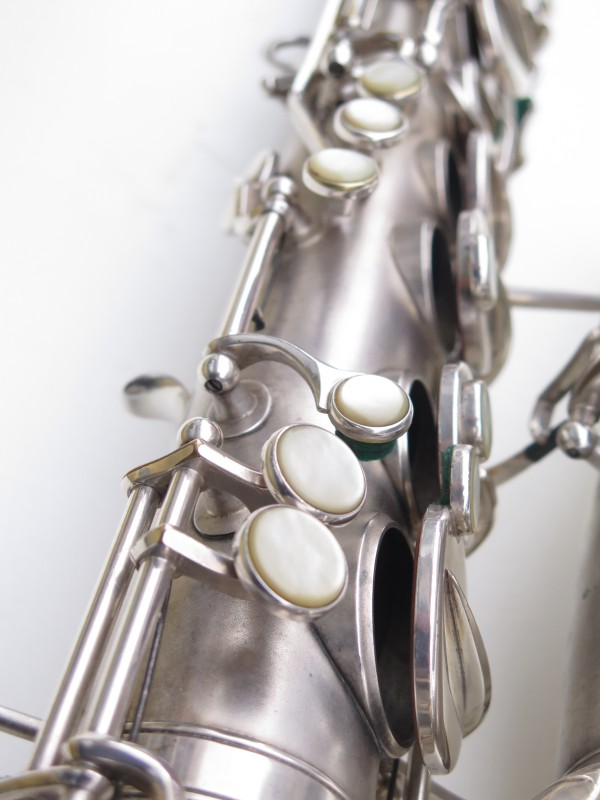 Saxophone alto Martin Master Typewriter argenté sablé (3)