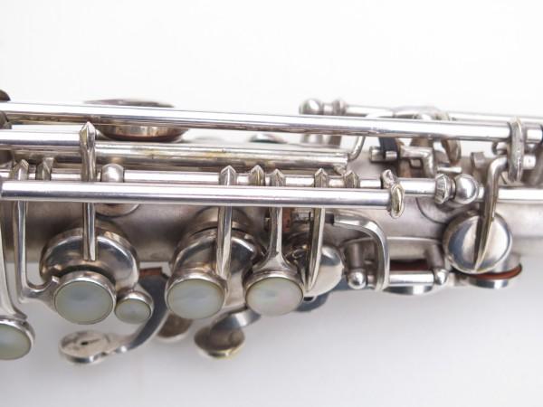 Saxophone alto Martin Master Typewriter argenté sablé (5)