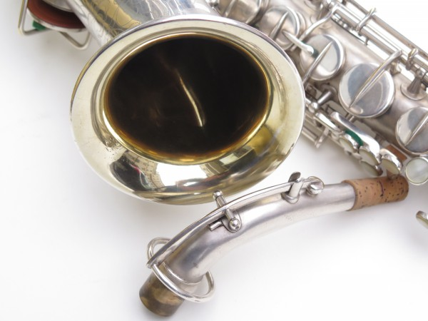 Saxophone alto Martin Master Typewriter argenté sablé (6)