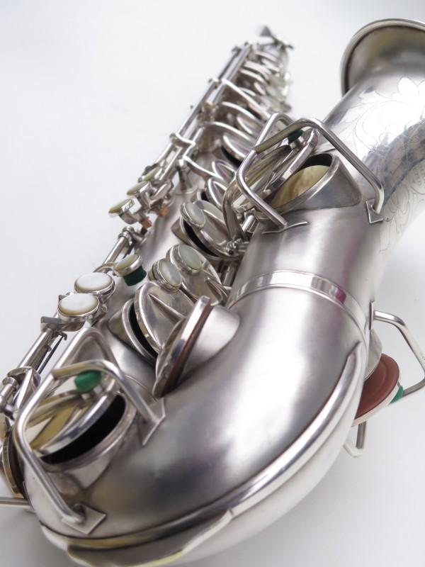 Saxophone alto Martin Master Typewriter argenté sablé (8)