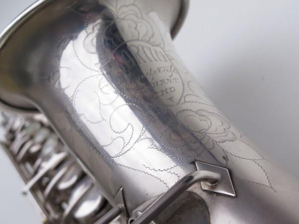 Saxophone alto Martin Master Typewriter argenté sablé (9)