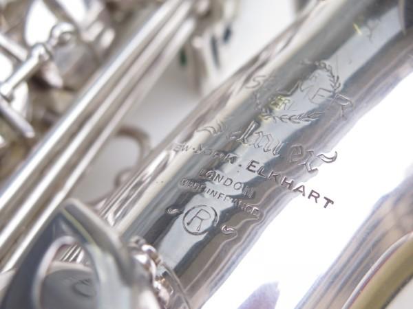Saxophone alto Selmer Mark 6 argenté (12)