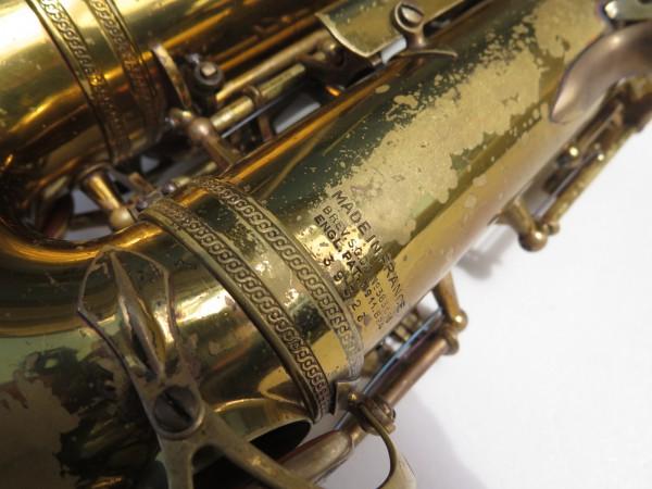 Saxophone alto Selmer Super Balanced Action verni gravé (14)