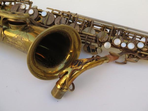 Saxophone alto Selmer Super Balanced Action verni gravé (7)