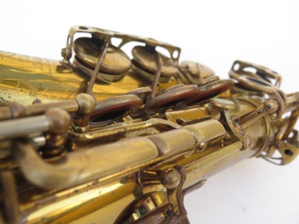 Saxophone alto Selmer Super Balanced Action verni gravé (8)
