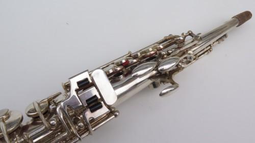Saxophone soprano Buffet Crampon Evette argenté (1)