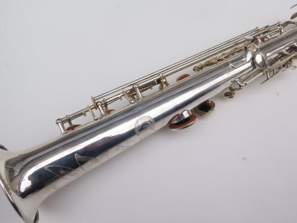 Saxophone soprano Buffet Crampon Evette argenté (4)