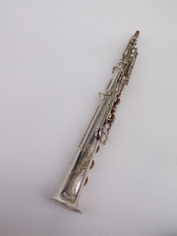 Saxophone soprano Buffet Crampon Evette argenté (6)