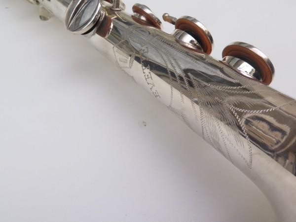 Saxophone soprano Buffet Crampon Evette argenté (9)