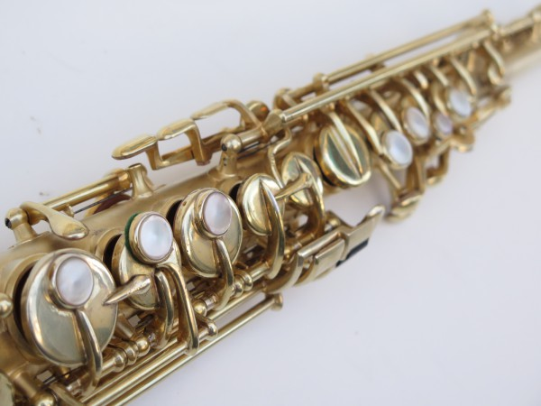 Saxophone soprano Wurlitzer Martin paqué or (2)