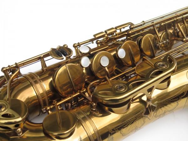 Saxophone ténor Selmer Mark 6 verni gravé double S (1)