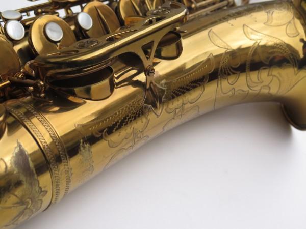 Saxophone ténor Selmer Mark 6 verni gravé double S (10)