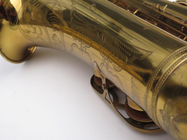 Saxophone ténor Selmer Mark 6 verni gravé double S (11)